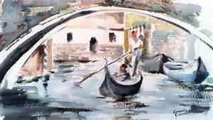 Venezia, la gondola vendita quadro pittura ArtlyNow