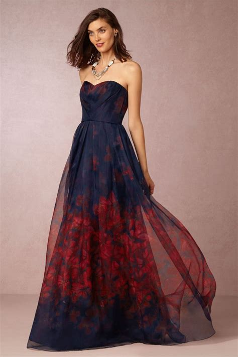 wear   fall  wedding dark formal gowns
