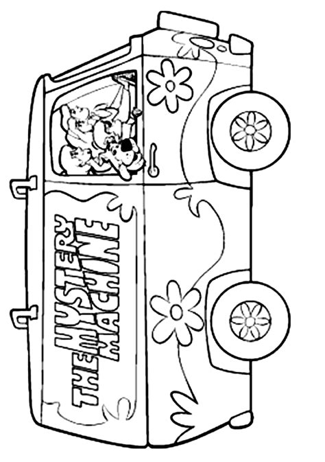 scooby doo coloring sheets coloring home