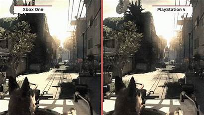 Xbox Duty Call Ps4 Ghosts Comparison Ps3