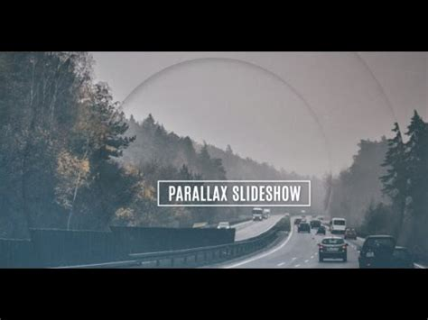 templates after effects free video e slideshow free after effects template parallax slideshow youtube
