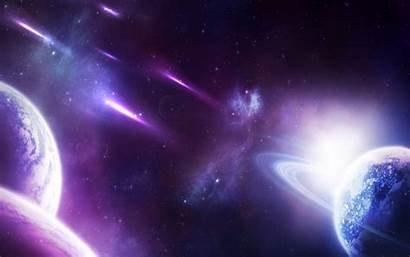 Galaxy Wallpapers Purple Yellow Universe Space Walldevil