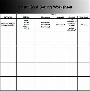 Smart Goal Setting Template Pictures to Pin on Pinterest ...