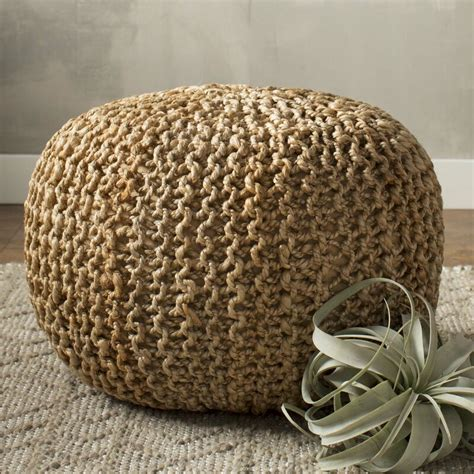 beachcrest home odin sphere pouf ottoman reviews wayfair