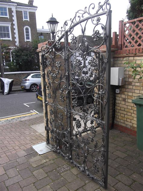 wrought iron estate driveway gates titan forge