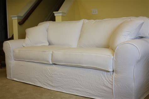 White Denim Sofa by Pin By Becker On Slipcovers