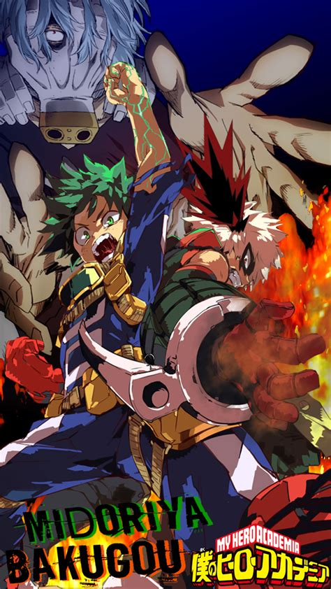 Explore the 221 mobile wallpapers associated with the tag katsuki bakugou and download freely everything you like! Boku No Hero Academia Wallpaper (iPhone 7+) by lenbeezy on ...