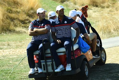 Tiger Woods pranked by Ryder Cup team with 'silent ...