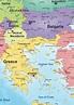 Digital Map Europe 840 | The World of Maps.com