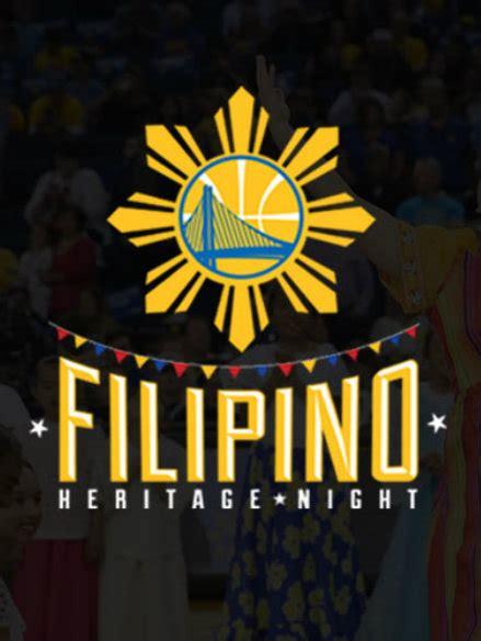 warriors warm   filipino heritage night shirts