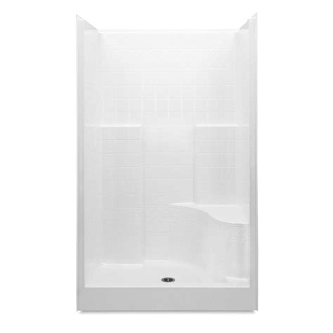 36 Shower Stall - aquatic everyday diagonal tile afr 48 in x 36 in x 79 in