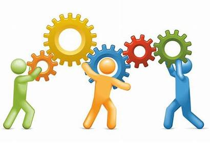 Together Working Clipart Clip Team Library