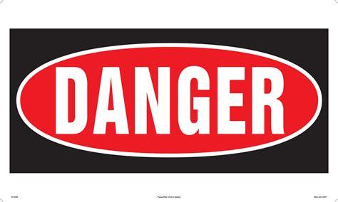 bath room mat 30 x 18 danger sign