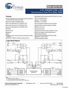 Cy7c09189v Manuals