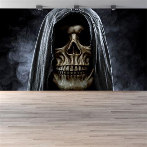 grim reaper halloween wall mural wallpaper
