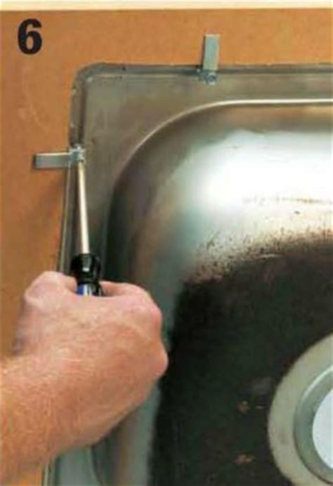 kitchen sink mounting hardware how to install a kitchen sink home design ideas and pictures