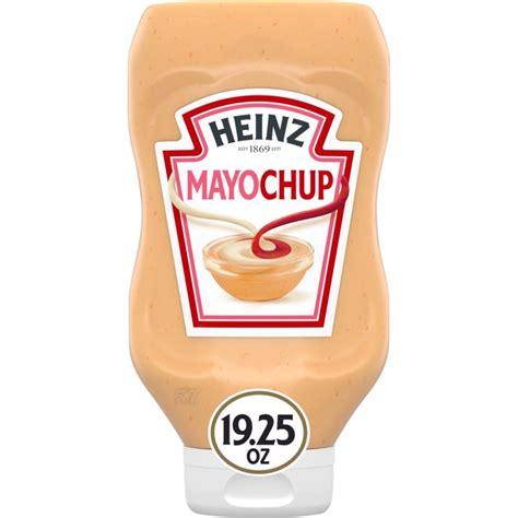 Heinz Mayochup Mayonnaise & Ketchup Sauce, 19.25 oz Bottle ...