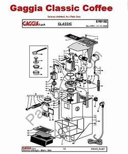 Gaggia Parts Manual
