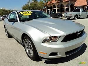 2010 Ford Mustang V6 Premium Coupe in Brilliant Silver Metallic photo #2 - 173638 | Jax Sports ...