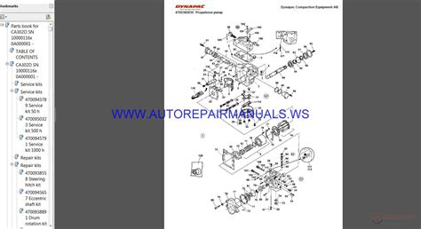 dynapac full set spare parts catalogue dvd auto repair