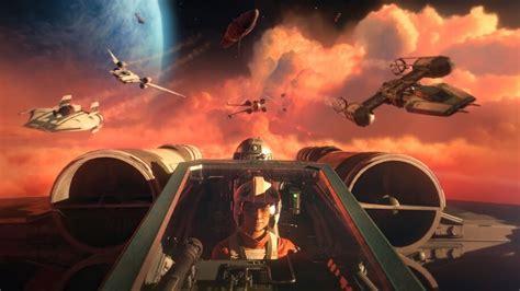 Star Wars Squadrons, Pilot, New Republic, Starships, 4K ...