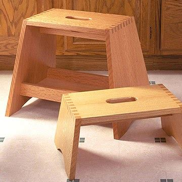 plans step stool woodworking plans  wooden
