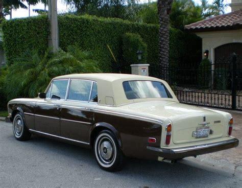 Bentley Motor Cars by Rolls Royce Silver Shadow Ii 1980 Rolls Royce Bentley