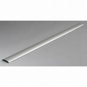Baguette Pour Cable Electrique : cache c ble aluminium pour moulure x p 7 cm leroy ~ Premium-room.com Idées de Décoration