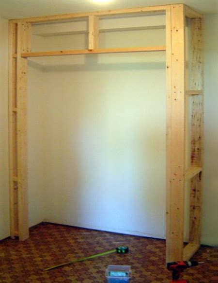 Building Wardrobe Closet by Home Dzine Home Diy Build A Built In Cupboard Closet Or
