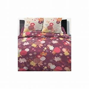 Housse De Couette 220x240 Coton : achat parure de lit 100 coton 220x240 cm fleurs d 39 t pas ~ Teatrodelosmanantiales.com Idées de Décoration
