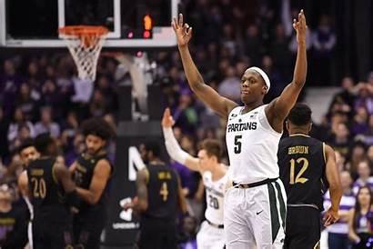 Winston Basketball Cassius Michigan State Northwestern Msu