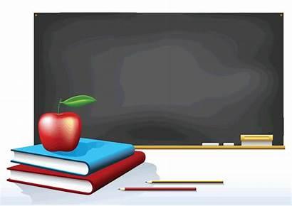 Clipart Chalkboard Rentree Apple Classroom Clip Classes