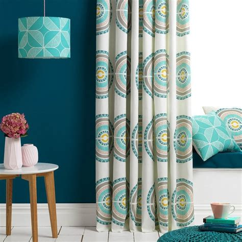 teal and white l shade teal rosette l shade homeware furniture and gifts