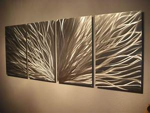 Metal wall art abstract contemporary modern decor
