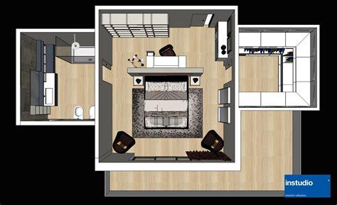 Progettazione Da Letto by Progettazione Padronale Con Zona Toilette Separata