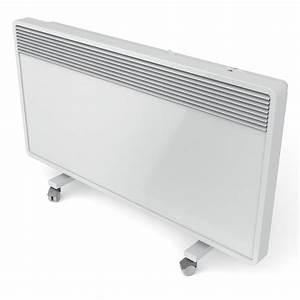 Radiateur Mobile À Inertie : convecteur lectrique mural perfect glassance mobile ~ Melissatoandfro.com Idées de Décoration