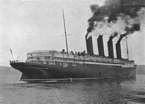 where in ireland did the lusitania sink picz the sinking of the lusitania 1915