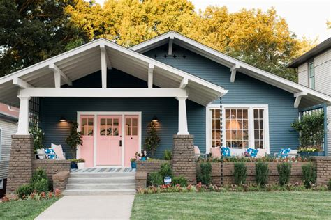 interior columns for homes craftsman bungalow before after hgtv 39 s oasis