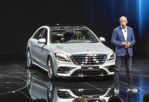 2018 Mercedes-benz S560e Plug-in Hybrid Joins Updated S