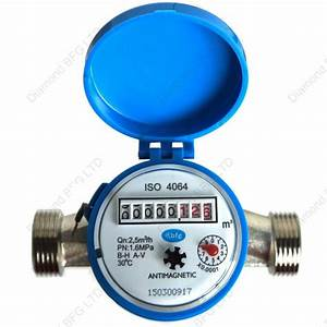 Water Meter For Industrial Home Or Garden Big Flow 2 5m3  H