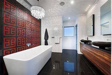 Bathroom Lighting Perth by Dazzling Mizu In Perth Combines Smart Technology With