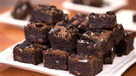 bowl chewy oreo brownies todaycom