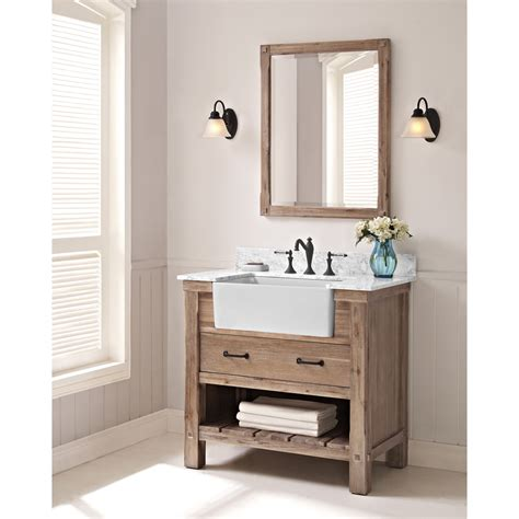 fairmont designs napa  farmhouse vanity sonoma sand