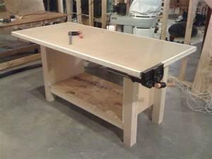 Woodwork mdf workbench plans pdf plans for Homemade mdf furniture