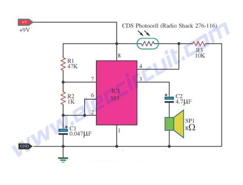 Light Detector Circuits Using