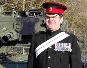 bullet magnet soldier speaks at bovington tank museum from bournemouth echo