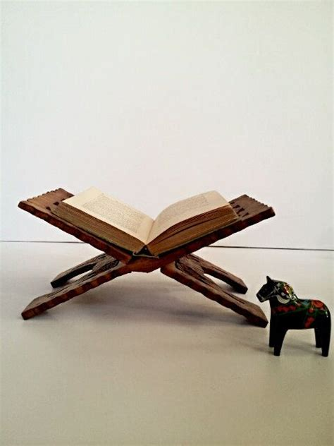 carved wooden book stand book rack folding book