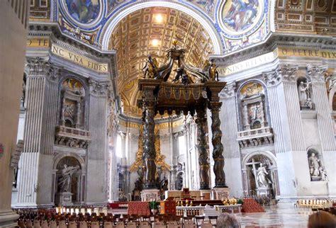 Baldacchino Di San Pietro Bernini by File Baldacchino Di San Pietro G L Bernini Jpg