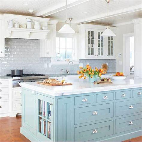 cuisine blanche et bleue revger com cuisine blanche idée inspirante pour la