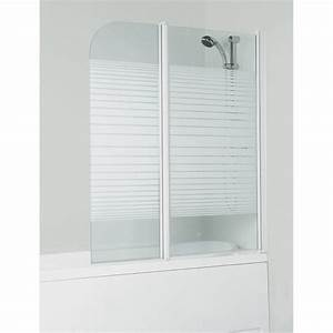 Porte Pour Baignoire : pare baignoire 2 volets droit deba pivotant achat ~ Premium-room.com Idées de Décoration